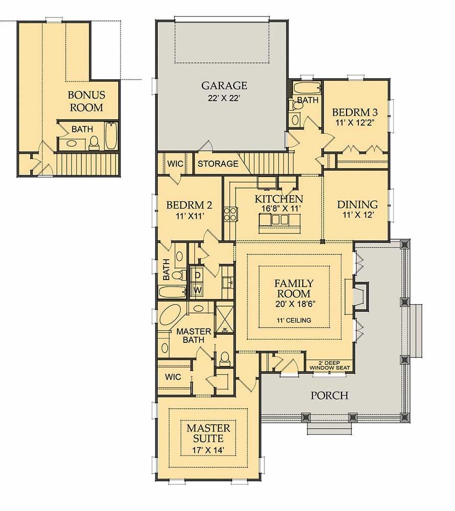 Summer Bonus Floor Plan