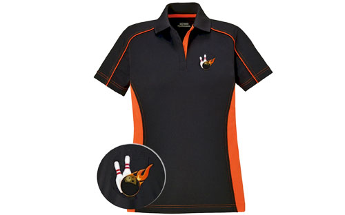 Red and Black Bowling Uniform