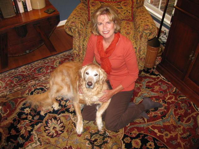 Owner Ginger and Maggie