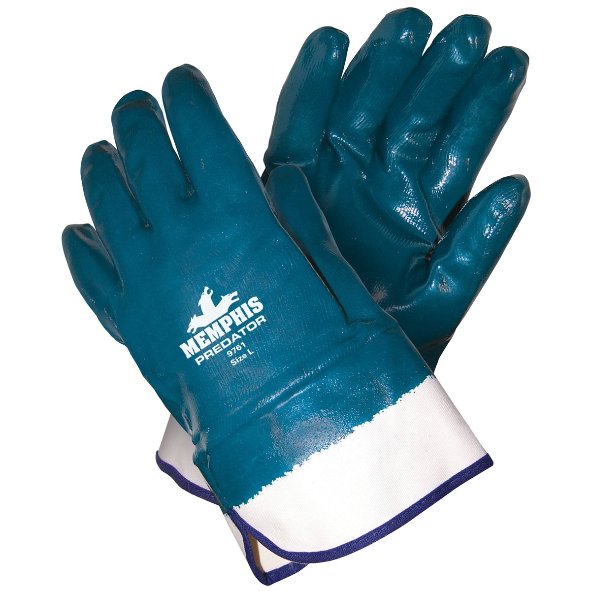 24 Memphis Predator Teal Gloves