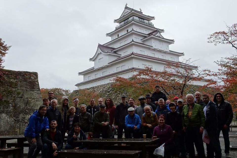 Bus trip - Tsuragajo Castle.