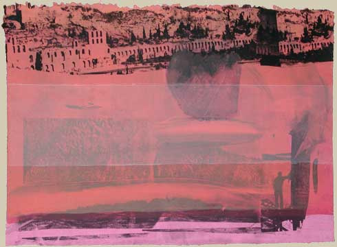 Thomas Wojak, View of Ruins I