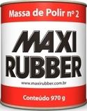MASSA DE POLIR  NUMERO 2  MAXI RUBBER