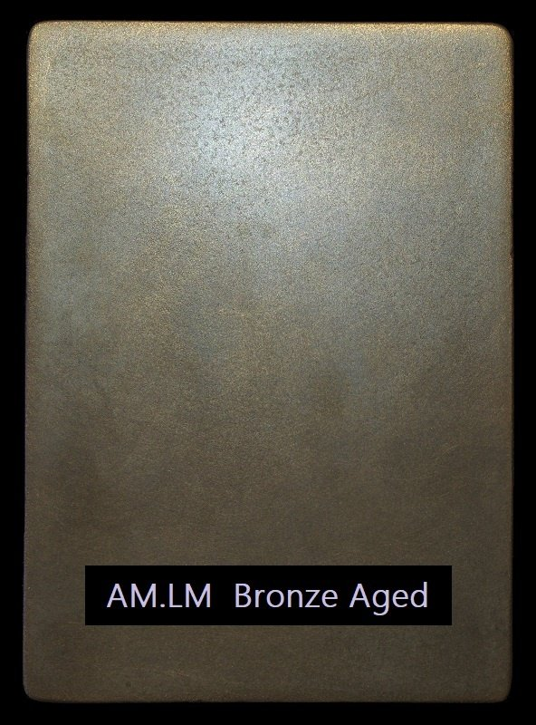 Cold Liquid Metal AM.LM aged bronze.
