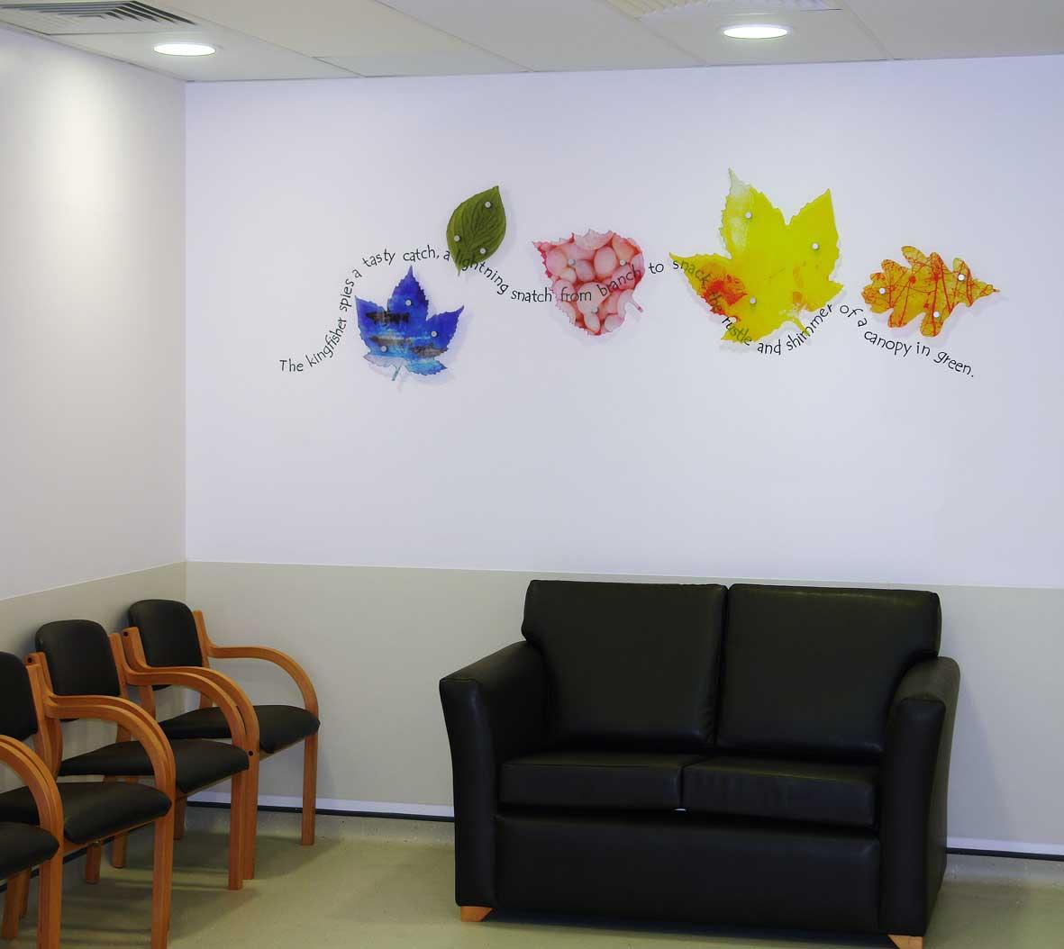 Hospital artwork