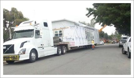 Modular building transportation services||||