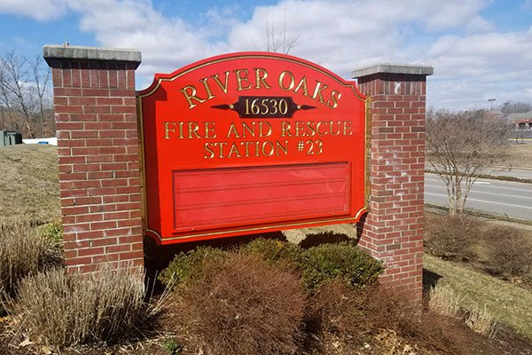 Fire Department Signage