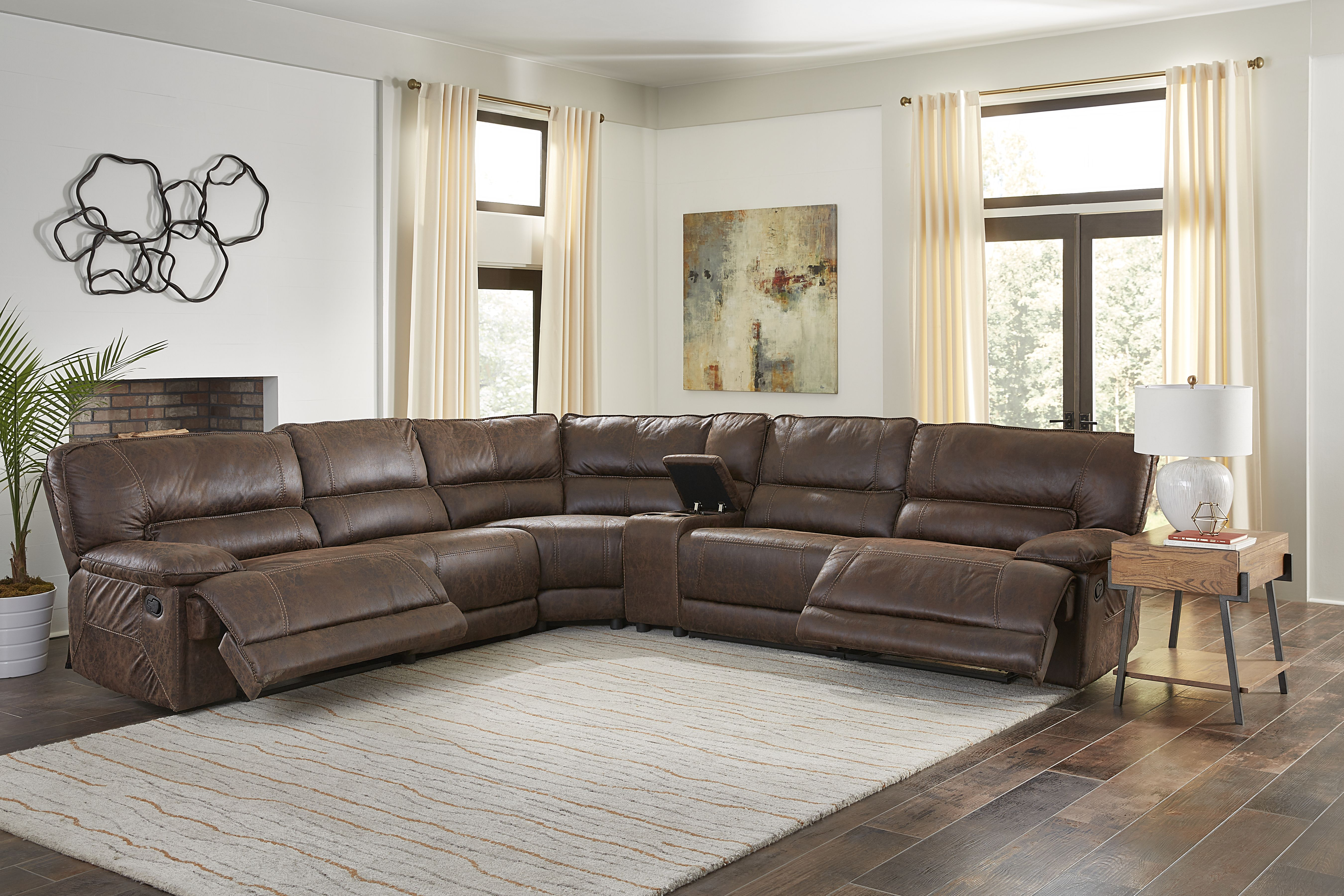 8002 canyon Silt 6 pc sectional