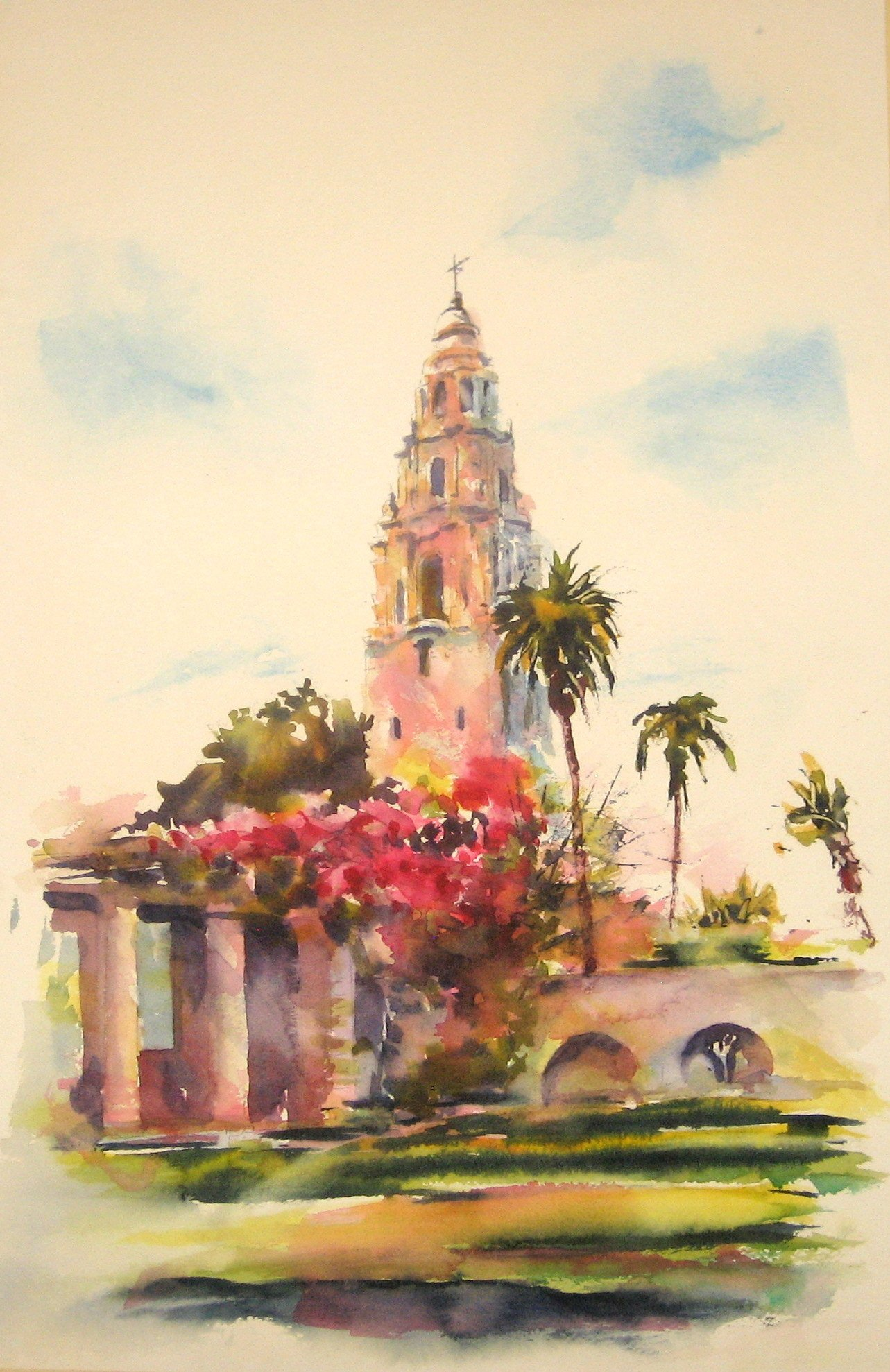 California Tower Balboa Park