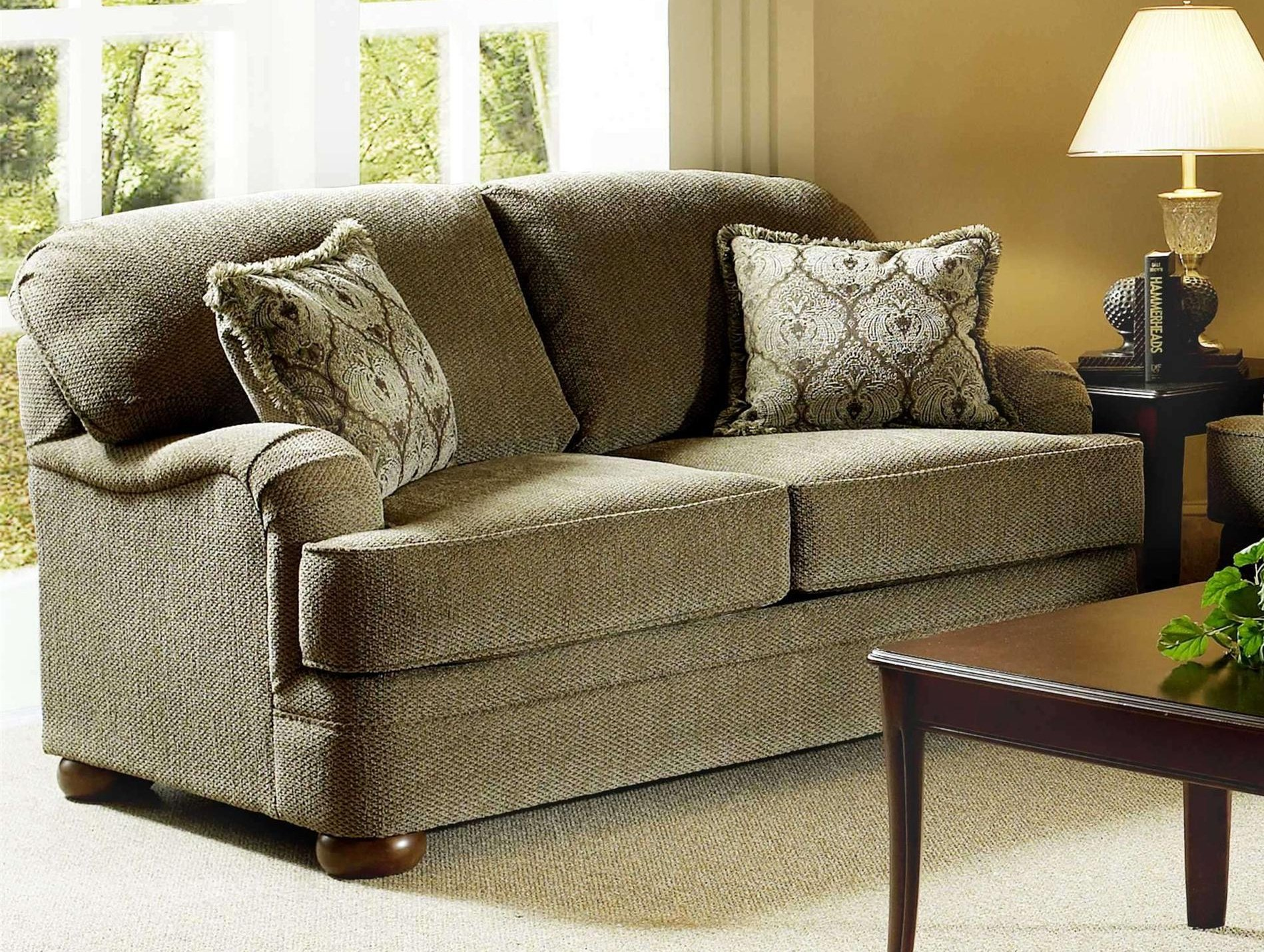 5500 Love Seat Heavenly Suede