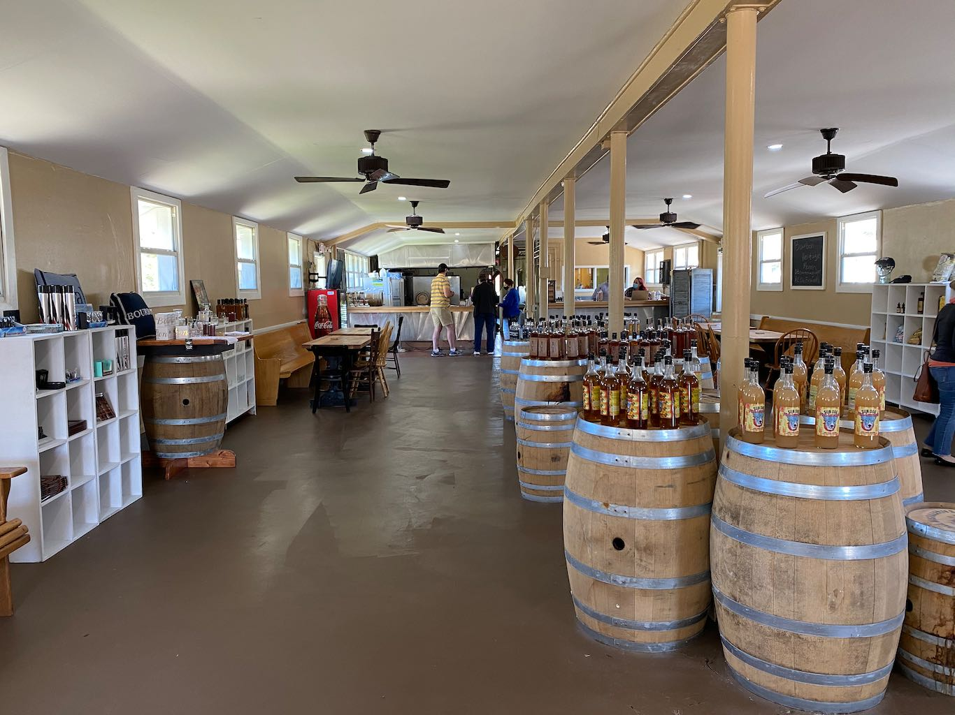 Gift Shop - Visitor Center - Southern Grace Distilleries (Whiskey Prison)