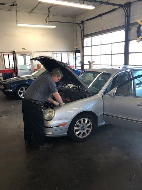 Automotive Mechanic at Work