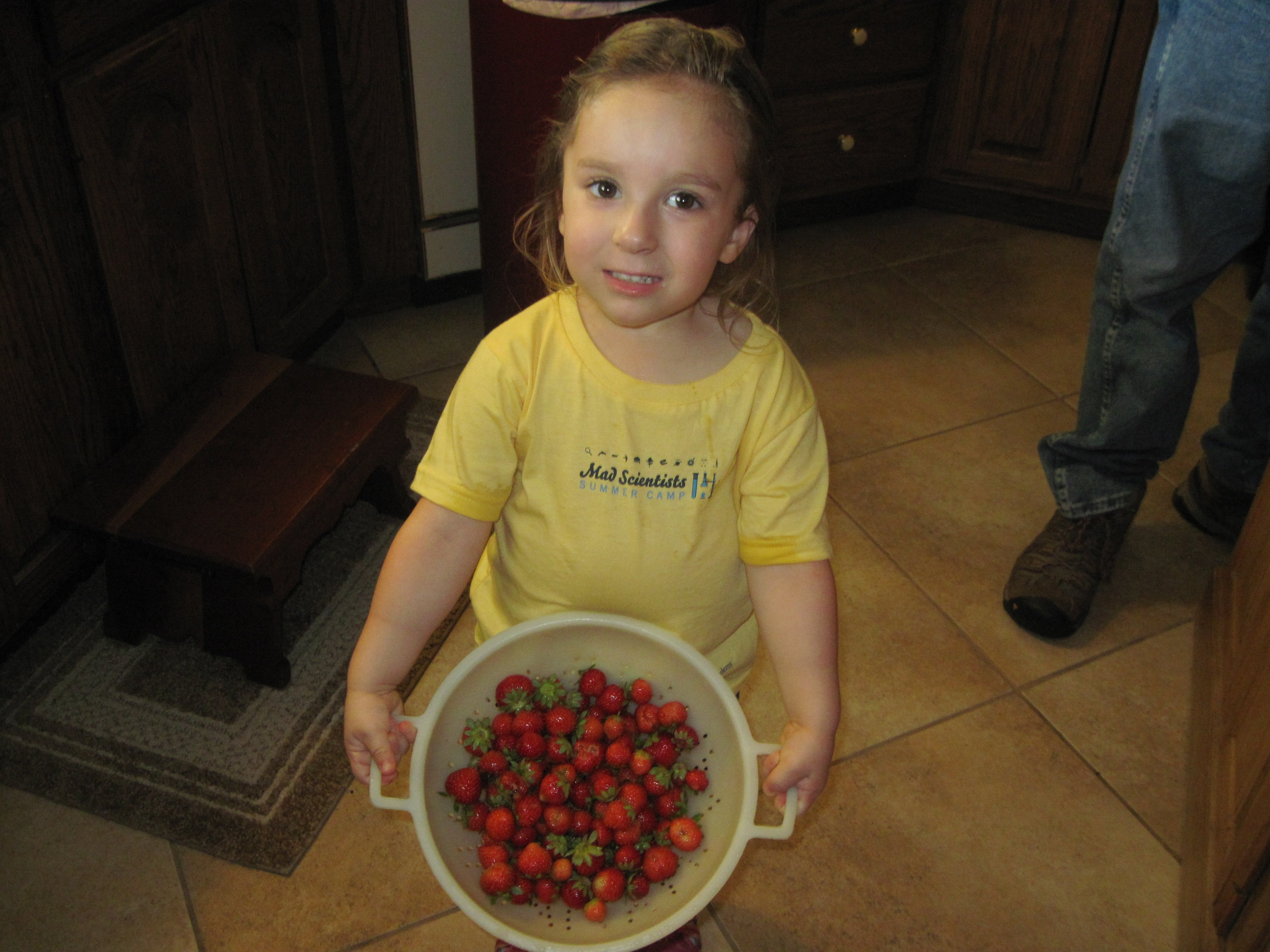 Natalie & Strawberries