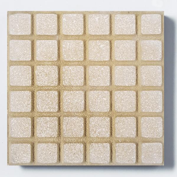 Adoquinado recto 36 panes amarillo con blanco 0/0