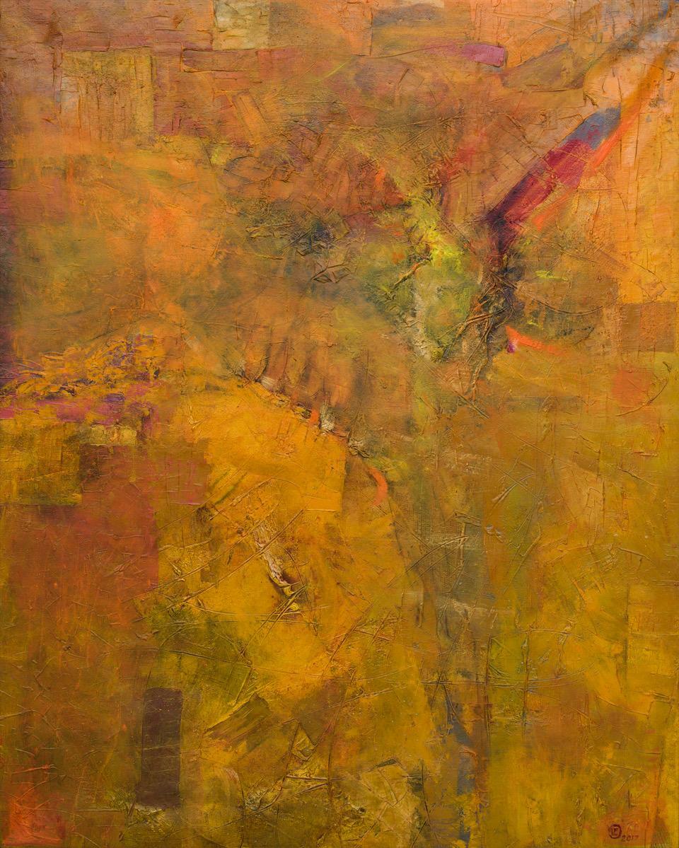Susurros óleo s/tela 150 x 120 cms
