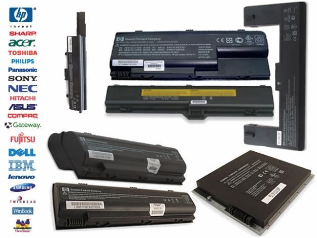 Resultado de imagen de baterías laptop