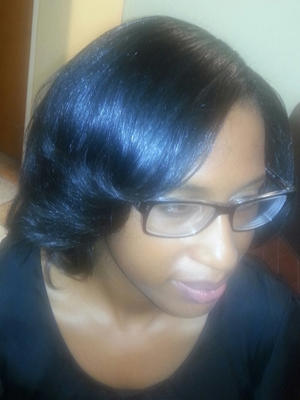SILK PRESS NATURAL HAIR
