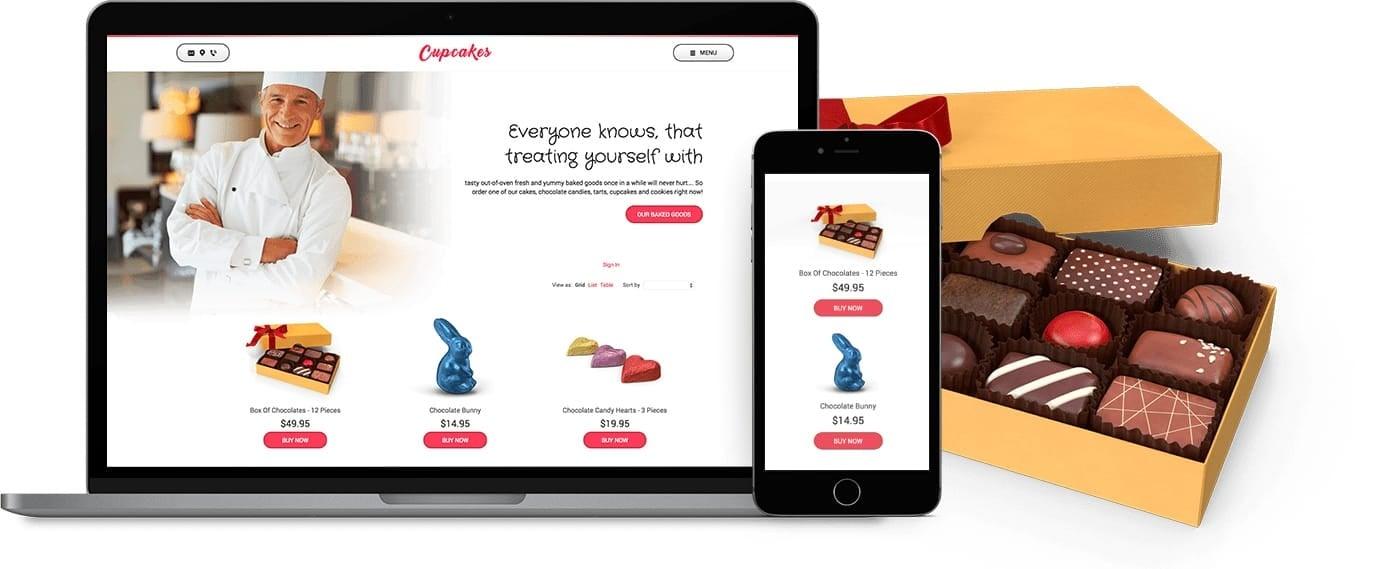 Ecommerce website - Bakery