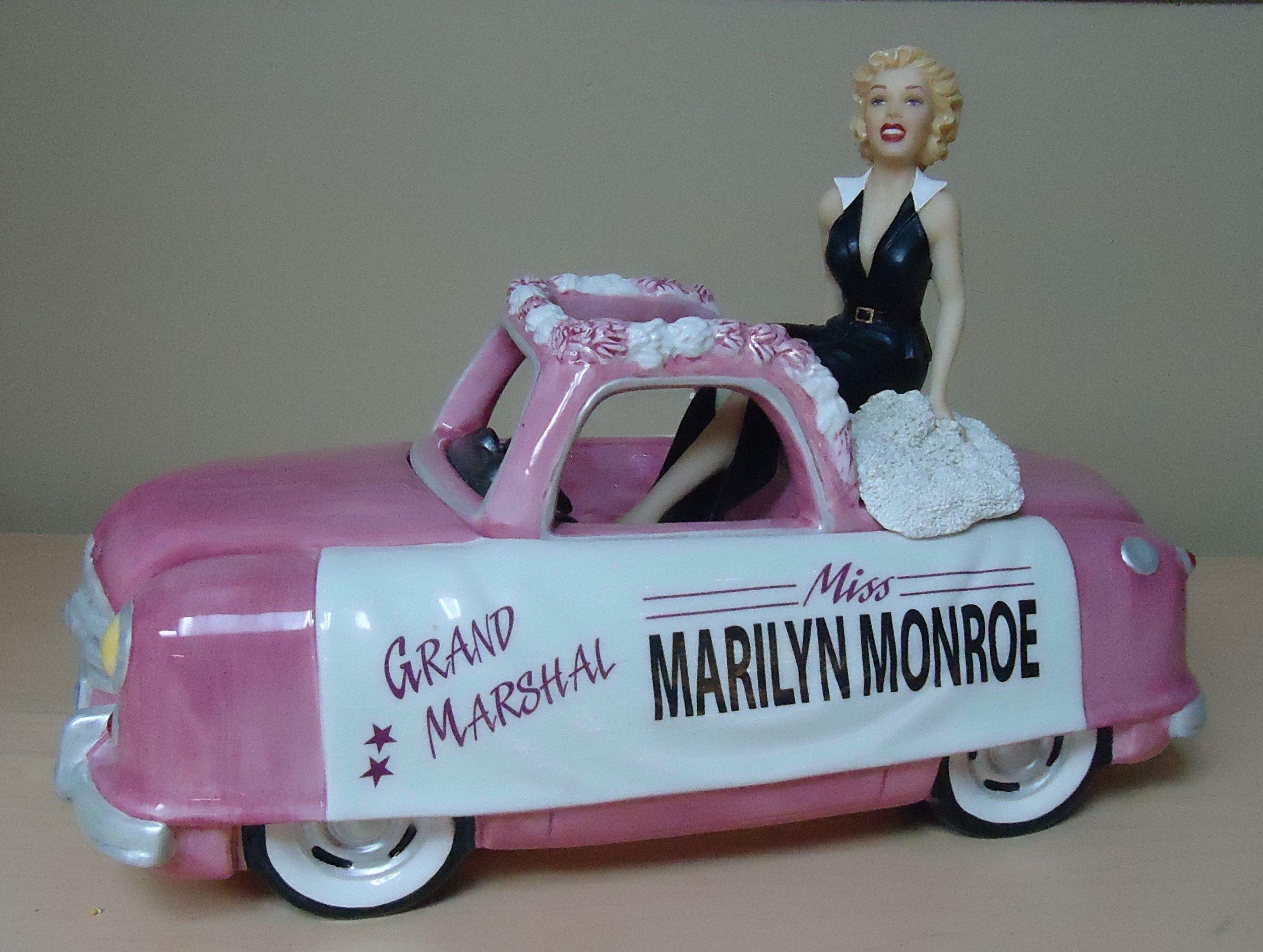 """(8) """"RARE"""" Marilyn Monroe Cookie Jar $185.00"""
