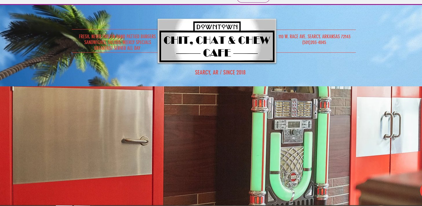 Downtown Chit, Chat & Chew Cafe