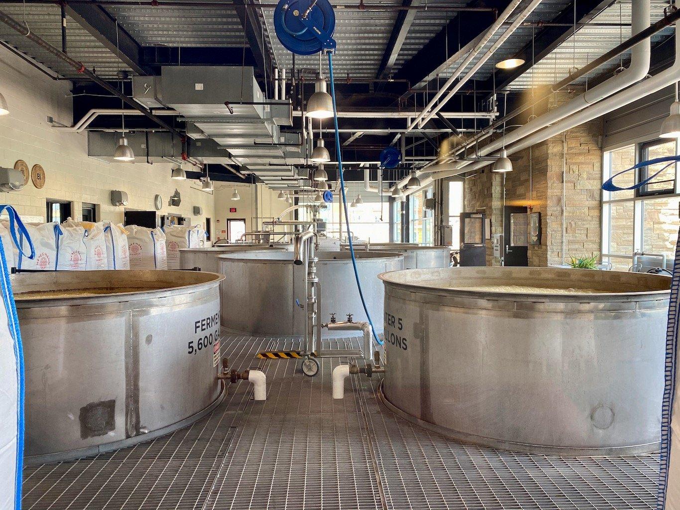Fermenters - New Riff Distilling Distillery