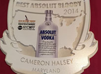As Voted by Absolut Vodka