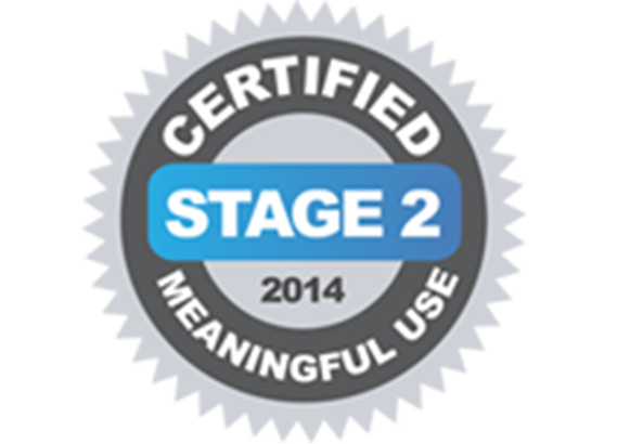 Meaningful Use Stage 2 Certified