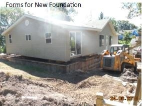 House With New Foundation