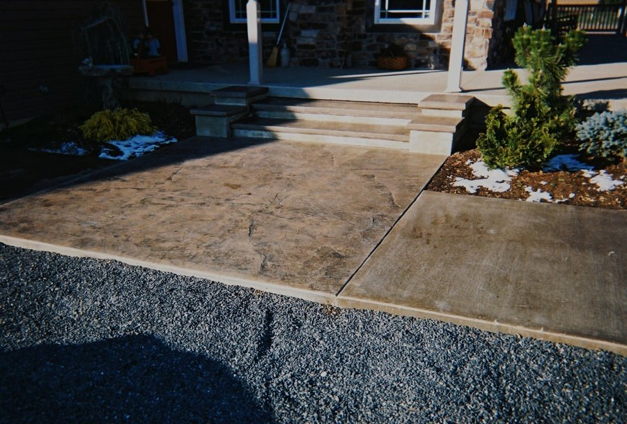 Seamless Slate Entrance