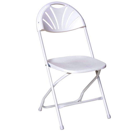 White Fanback Chair $1.50/day or weekend 100+  $1.35/ea