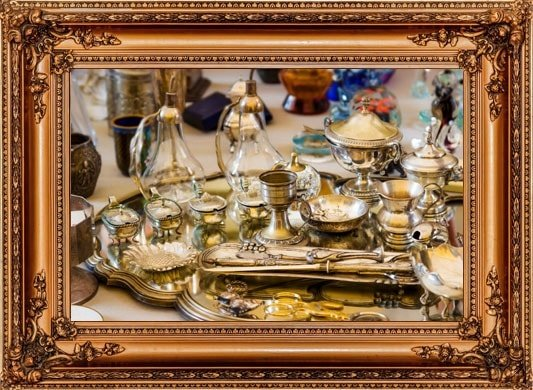 Vintage Objects and Flatware