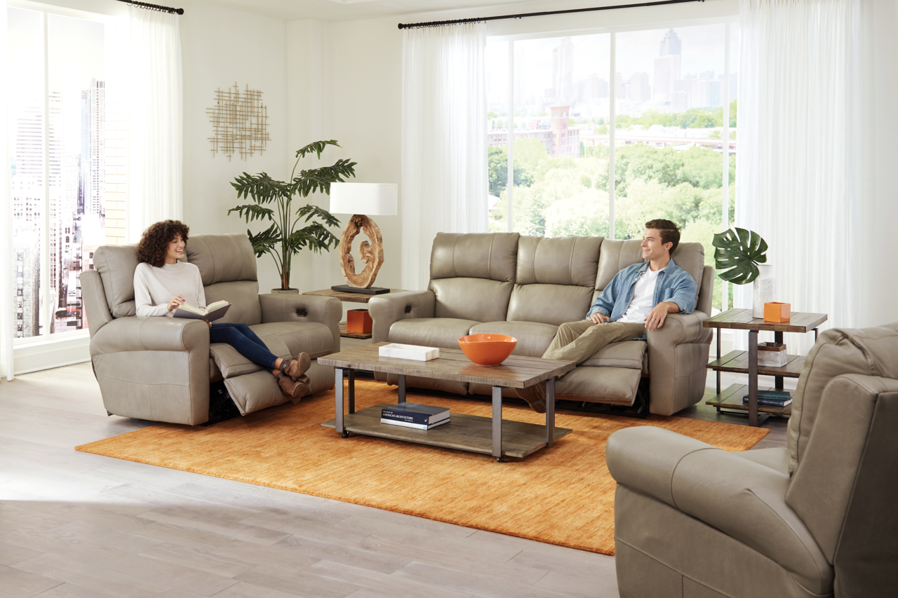 Toretta Power Reclining Sofa & Loveseat