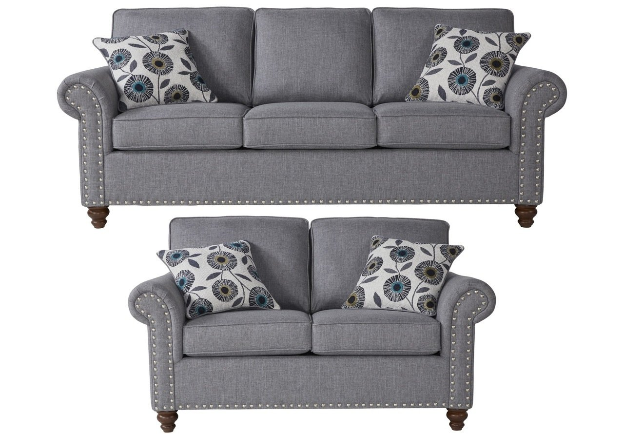 17650 Serta Sofa and Love Seat