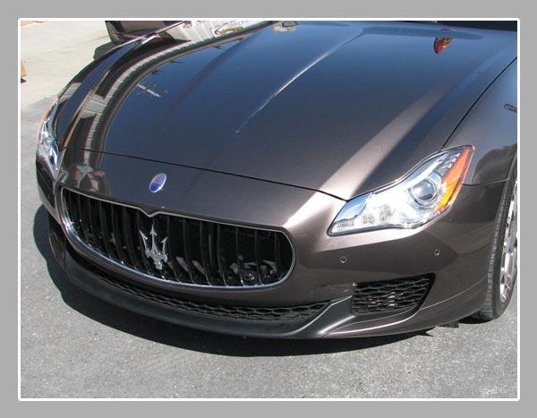 Repaired Maserati