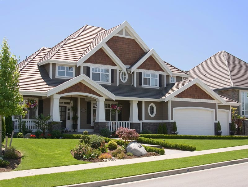 A beautiful residential home