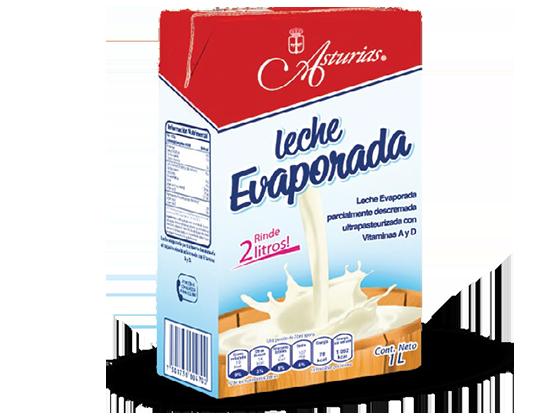 470 |  Leche Evaporada Caja de 12 l (12 Tetra Brik de 1 l)