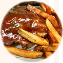Ribs & Fries
