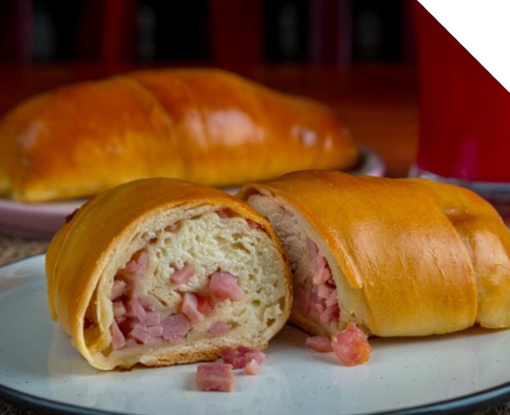 Ham-Stuffed Bread
