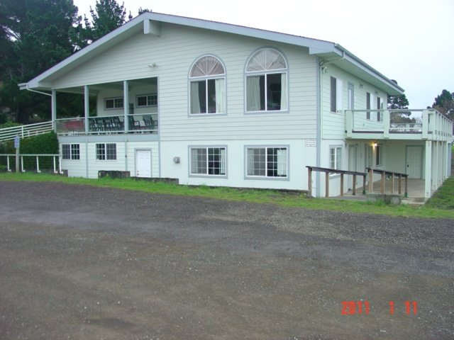 Community Clubhouse and Parking Lot