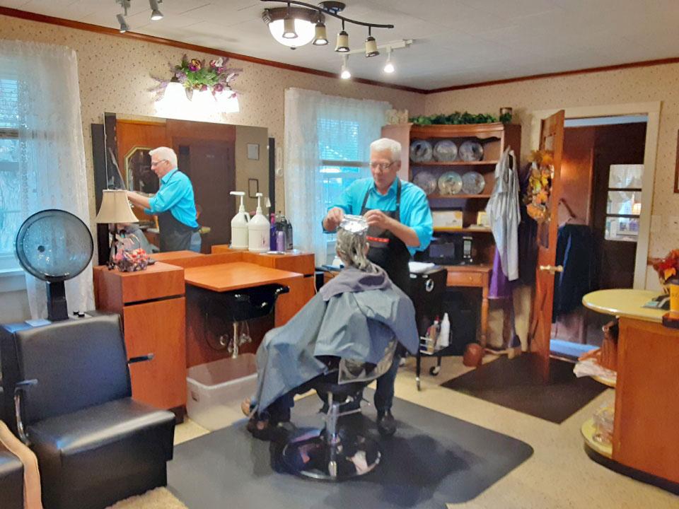 Client in a Hair Salon 2