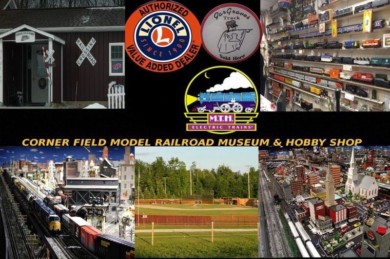 Corner Field Model Railroad Museum and Hobby - Home