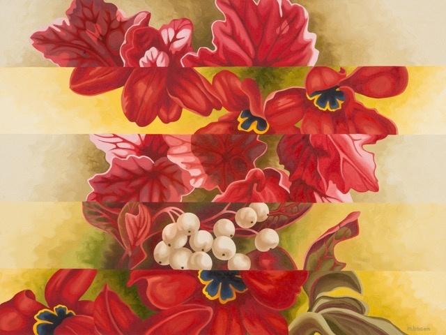 """""""Flower Girl"""" 30 x 40"""