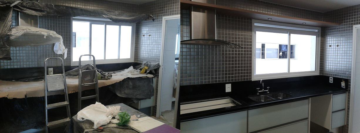 Cozinha Apartamento - Moema