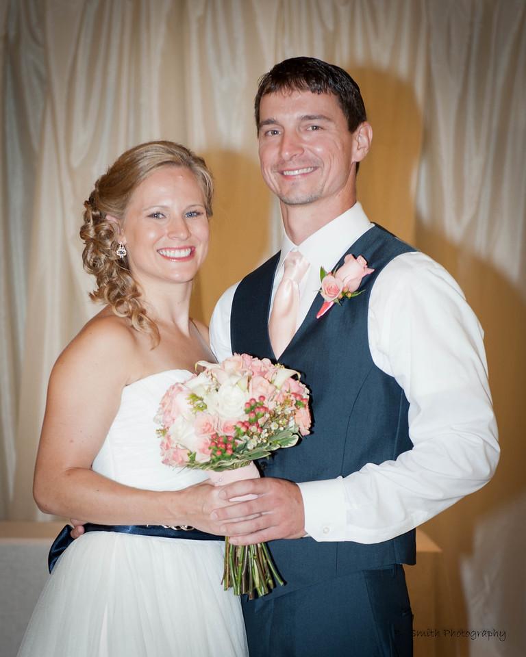 Dr. Parham and husband Cory, July 2016