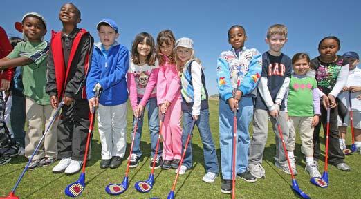 Children Golfers