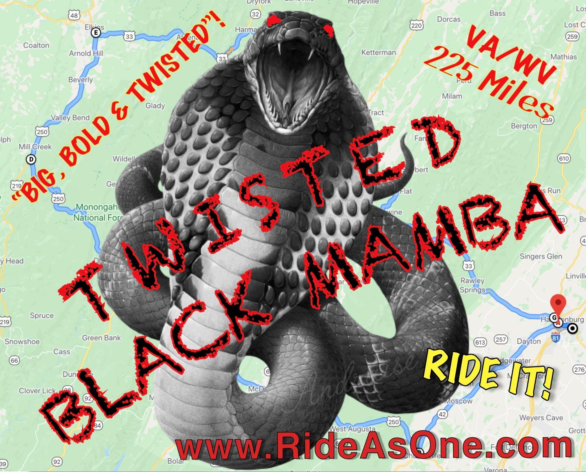 Twisted Black Mamba