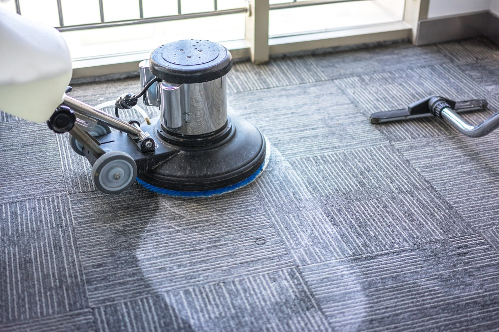 Cleaning Work Carpet