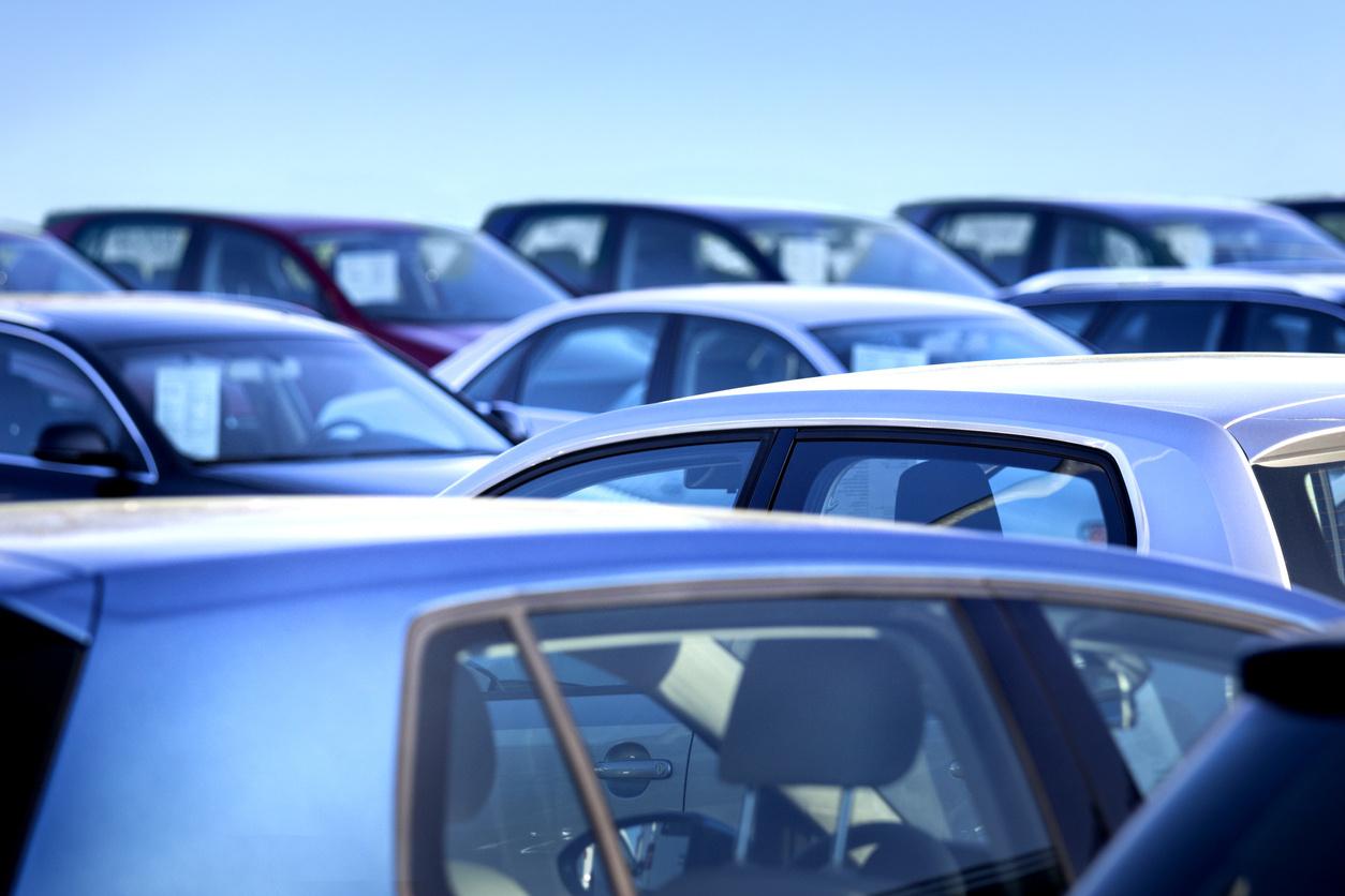 Junk car lot