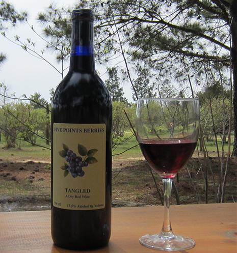 Local Wines Winery Mauk Blueberry Wines