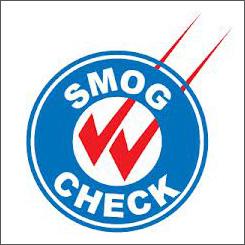 Smog Check logo||||